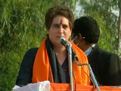 """""""If Voted To Power, Congress Will Scrap Farm Laws"""": Priyanka Gandhi Vadra In UP Rally"""