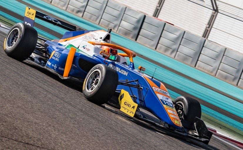 Jehan Daruvala currently leads the championship standings in the 2021 F3 Asian Championship