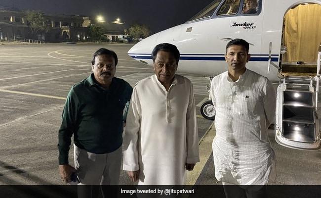Narrow Escape For Kamal Nath As Lift Crashes In Madhya Pradesh