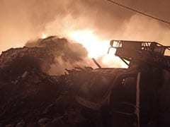 More Than 20 Huts Burnt In Major Slum Fire In Delhi, No Casualties