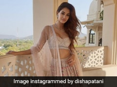 Tis' The Season To Dress Up In Gorgeous Lehengas Just Like Disha Patani