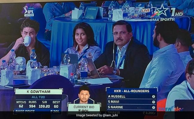 Shah Rukh Khan's Son Aryan, Juhi Chawla's Daughter Jahnavi Join IPL Auctions