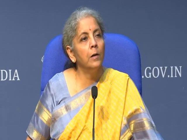 Video : We've Spent, We've Spent, We've Spent, Says Nirmala Sitharaman