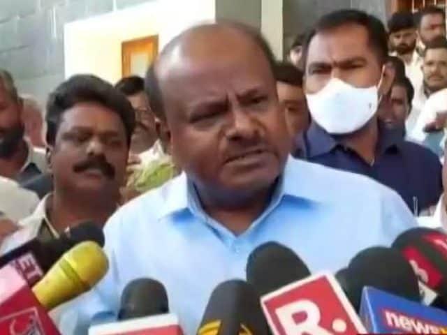 Video : Threatened For Money For Ram Temple Donation, HD Kumaraswamy Alleges