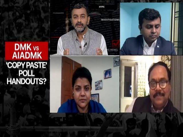 Video : Freebies Frenzy In Tamil Nadu Poll Season