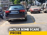 Video : Ambani Bomb Scare: Key Recoveries From A Mercedes, Cop Allegedly Drove It