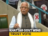 Video : Congress Fails To Bring Down Haryana Government, BJP Wins Trust Vote