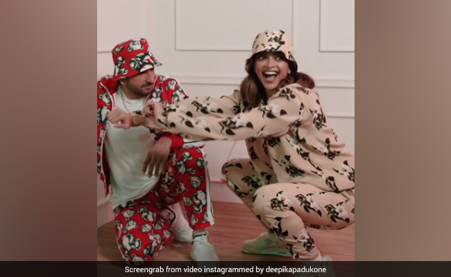 Deepika Padukone And Ranveer Singh Dance Like Nobody's Watching. Need We Say More? - NDTV
