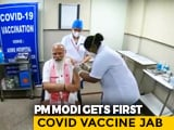 Video : PM Modi's Message To India As He Takes First Shot Of Coronavirus Vaccine