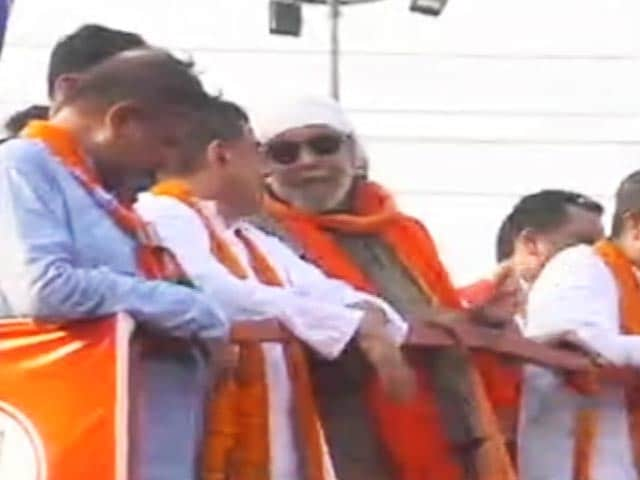 Video : Mithun Chakraborty Campaigns For BJP In Nandigram