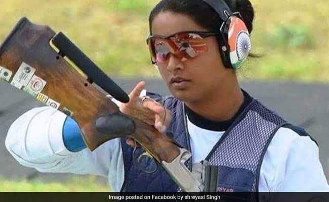 ISSF Shooting World Cup: श्रेयसी, राजेश्वरी और मनीषा कीर की भारतीय तिकड़ी ने महिला ट्रैप स्पर्धा में जीता गोल्ड मेडल