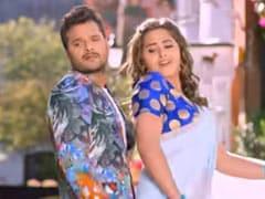 Khesari Lal Yadav और Kajal Raghwani का नया भोजपुरी सॉन्ग रिलीज, खूब जमी दोनों की जोड़ी- देखें Video