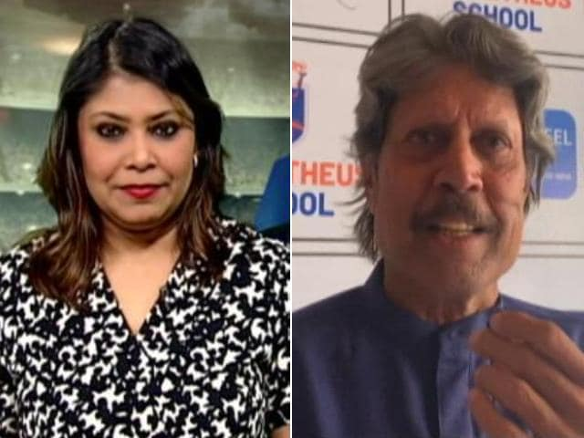 """Video : """"Will Work Towards Making IPL Style Golf A Reality""""- Kapil Dev"""