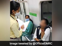 """#CovidIsntOverYet"": Delhi Metro Fines 29 Commuters For Violating Rules"