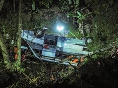 Indonesia Bus Plunge Kills Two Dozen Pilgrims