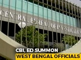Video : Central Agencies Line Up A String Of Questioning Sessions Amid Bengal Poll Campaign