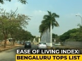 "Video : This City Ranked ""Most Livable"" In Government's 'Ease Of Living Index'"