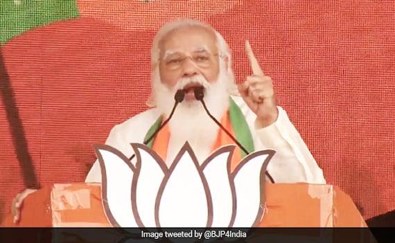 'What If Didi's Scooty Falls In Nandigram': PM Targets Mamata Banerjee