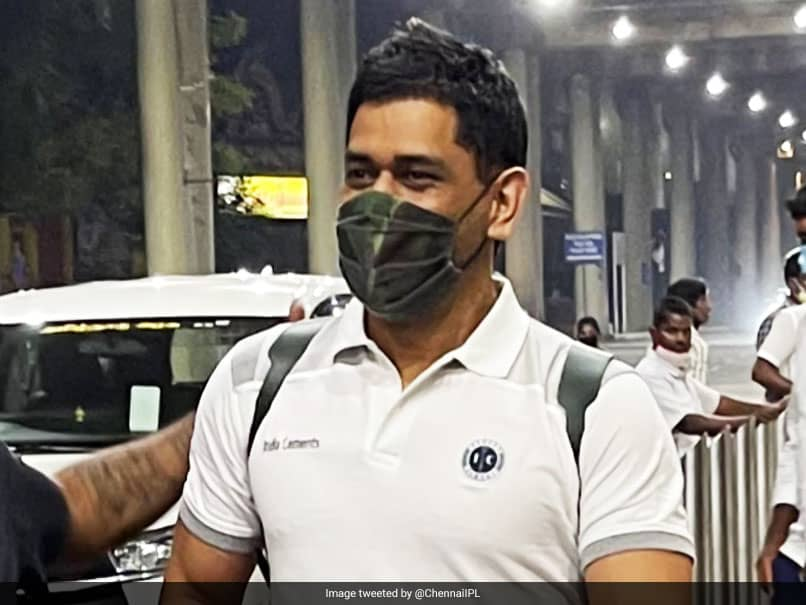 MS Dhoni Receives Grand Reception As He Lands In Chennai For IPL 2021. Watch