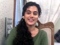 Watch: Taapsee Pannu Says Appreciates Finance Minister's Tweet On Raids