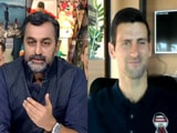 "Video : ""My Journey Wasn't Easy,"" World No. 1 Novak Djokovic Tells NDTV"