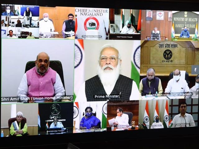 Video : PM Meets Chief Ministers Amid Fresh Covid Surge