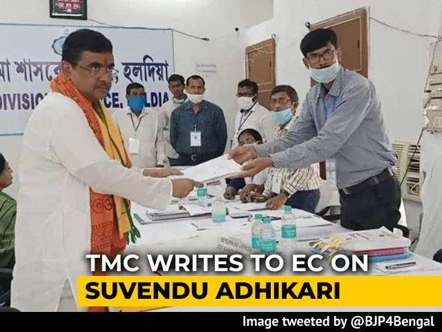 Video : Cancel Suvendhu Adhikari's Nomination: Trinamool Writes To Poll Body