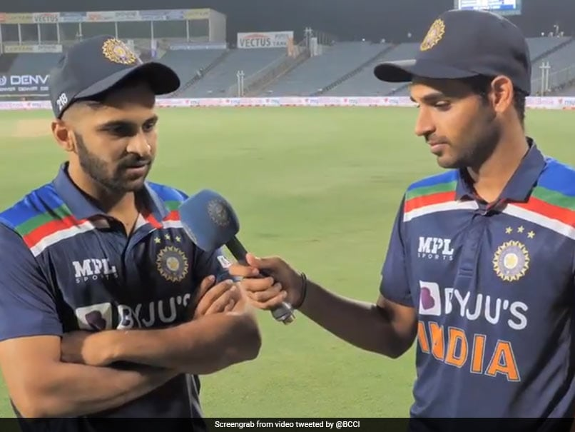 India vs England: Shardul Thakur, Bhuvneshwar Kumar Interview Each Other After India Win Thriller. Watch