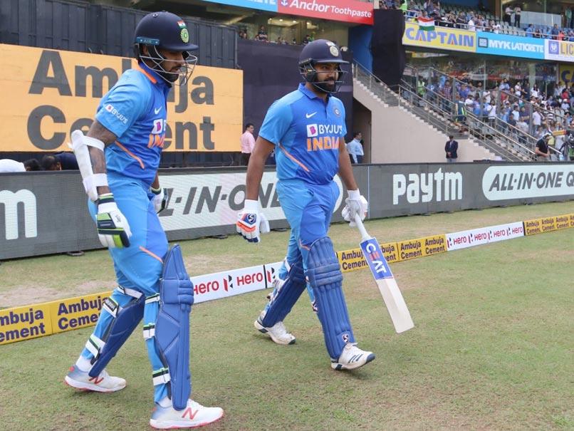 "India vs England, 1st ODI: Rohit Sharma, Shikhar Dhawan Will ""Definitely Start"" As Openers, Says Virat Kohli"