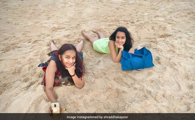 Life's A Beach For Shraddha Kapoor And