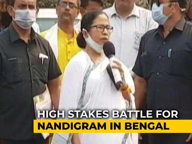 Video : Mamata Banerjee, Suvendu Adhikari To Clash In Battle For Nandigram