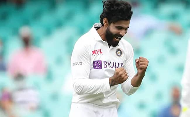 Ravindra Jadeja suffered a dislocated thumb during India's 2020-21 Test series in Australia.© Indian Cricket Team/Instagram