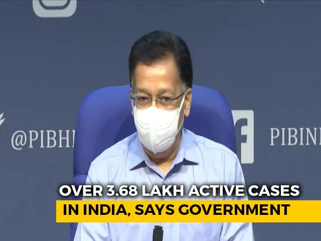 Video : Over 3.68 Lakh Active Cases In India, Says Government