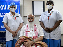 Bharat Biotech Thanks PM Modi For Taking 1st Dose Of Its Covid Vaccine