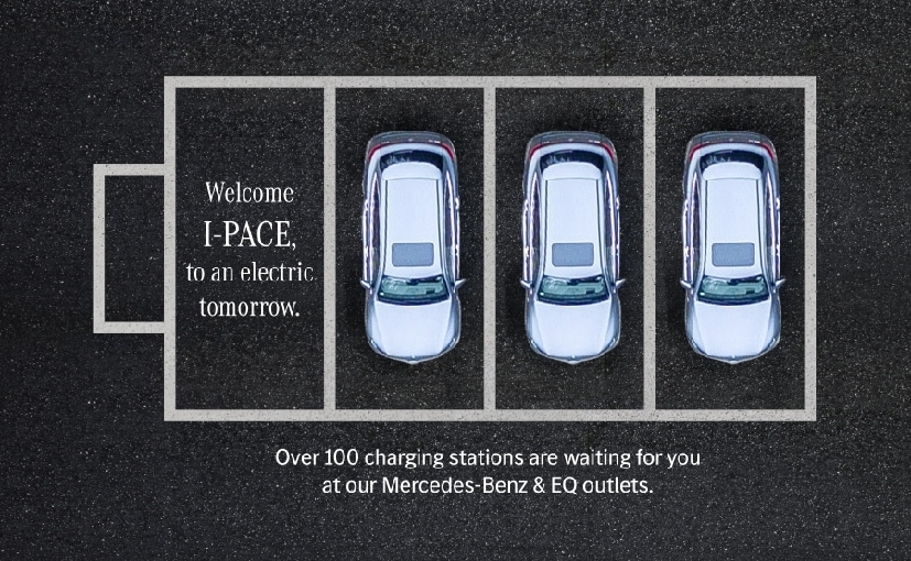 The image was shared by Mercedes-Benz on Twitter