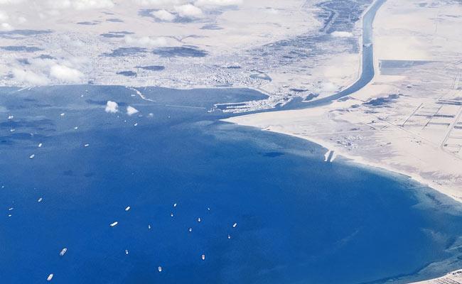Ikea Furniture, Oil, Tea: An Aladdin's Cave Of Goods Stuck In Suez Canal