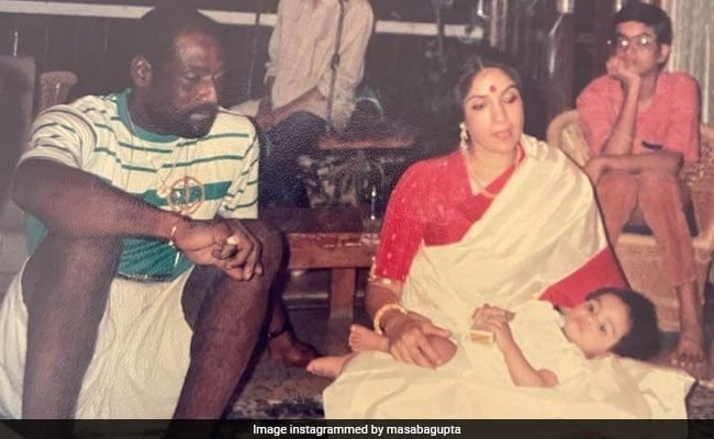 Neena Gupta, Vivian Richards And Little Masaba In A Priceless Throwback - NDTV