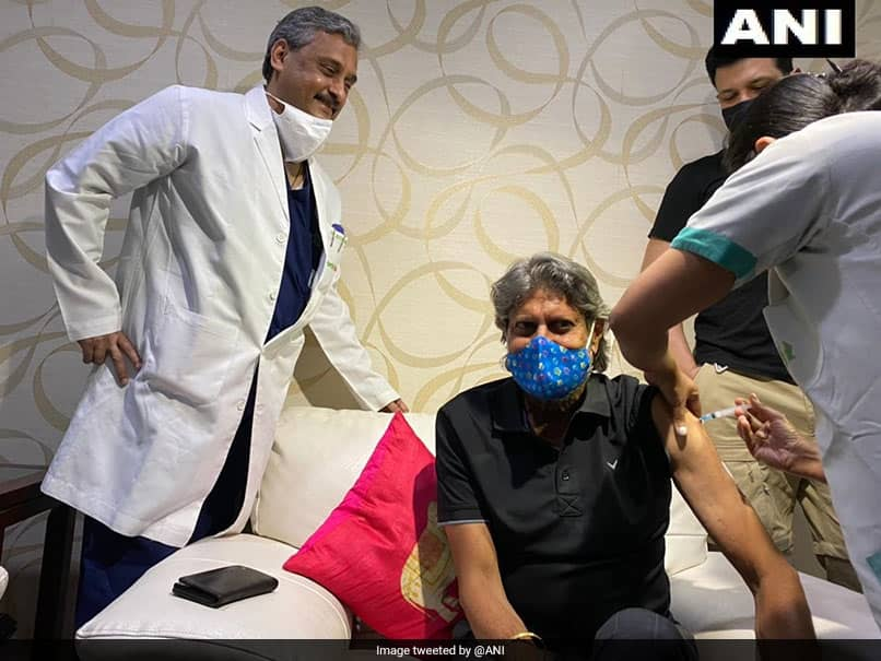 Kapil Dev gets first dose of COVID-19 vaccine at Fortis hospital