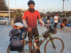 Lockdown Inspires Chennai Techie To Cycle Across India For Six Months