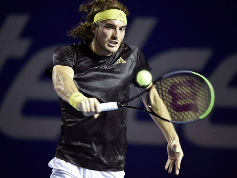 Top-Seeded Stefanos Tsitsipas Reaches ATP Acapulco Semis