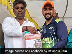 Cricketer Gets Five Litres Of Petrol As Man Of The Match Reward, Pic Goes Viral