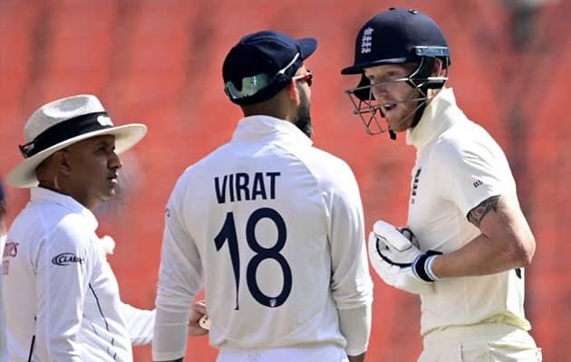 Watch: Virat Kohli, Ben Stokes In Heated Conversation, Umpire Intervenes