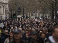 36 Arrested As Thousands Protest Against Lockdown In London