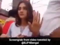 On Camera, Trinamool's Nusrat Jahan Seen Losing Cool. BJP Taunt On Cue