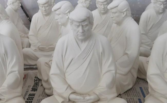 Meditate, Be At Peace, Trump Buddha Statue Designer Tells Ex-US President