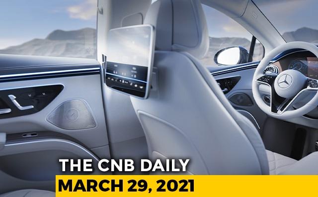Mercedes-Benz EQS Cabin | TVS Star City+ | Toyota Price Hike April