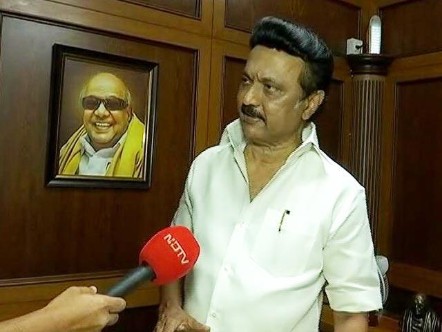 Video : Religious Politics Won't Work In Tamil Nadu: MK Stalin