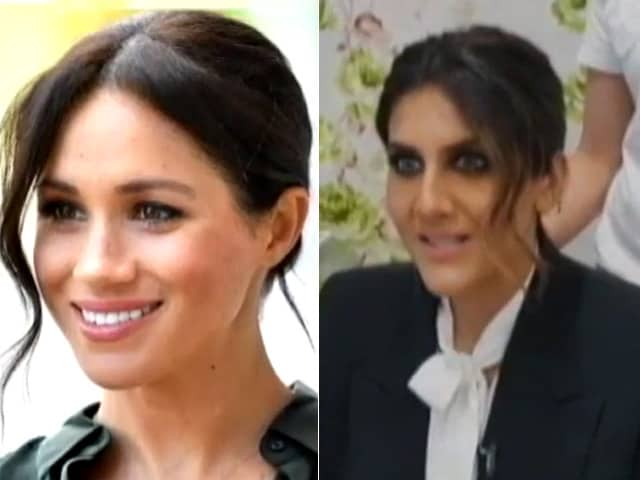 Video : Recreating Meghan Markle's Hair And Make-Up