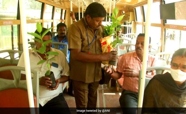 Tamil Nadu Bus Conductor Plants 3 Lakh Saplings In 30 Years, Wins Praise