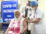 Video : Watch: How PM Narendra Modi Got Covid Vaccine Today